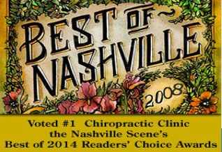 Best of Nashville Chiropractic clinic 2014 Award Winner-Dunn Clinic